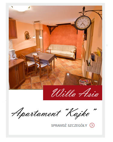 Galeria zdjęć - Apartament Kajko