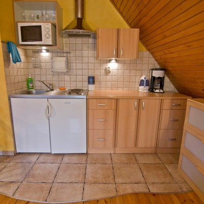 Kuchnia- Apartament Kokosz