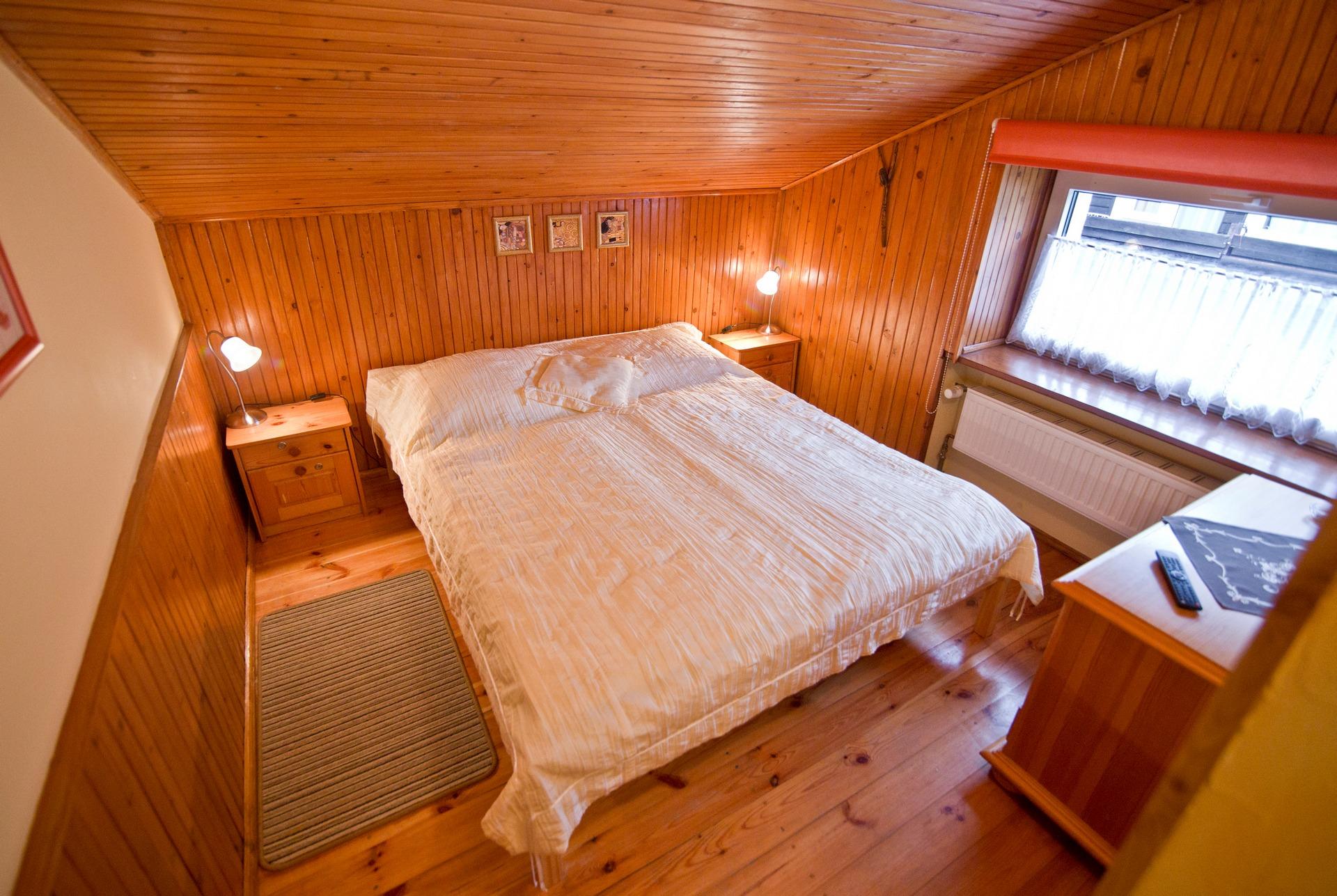 Sypialnia - Apartament Kajko
