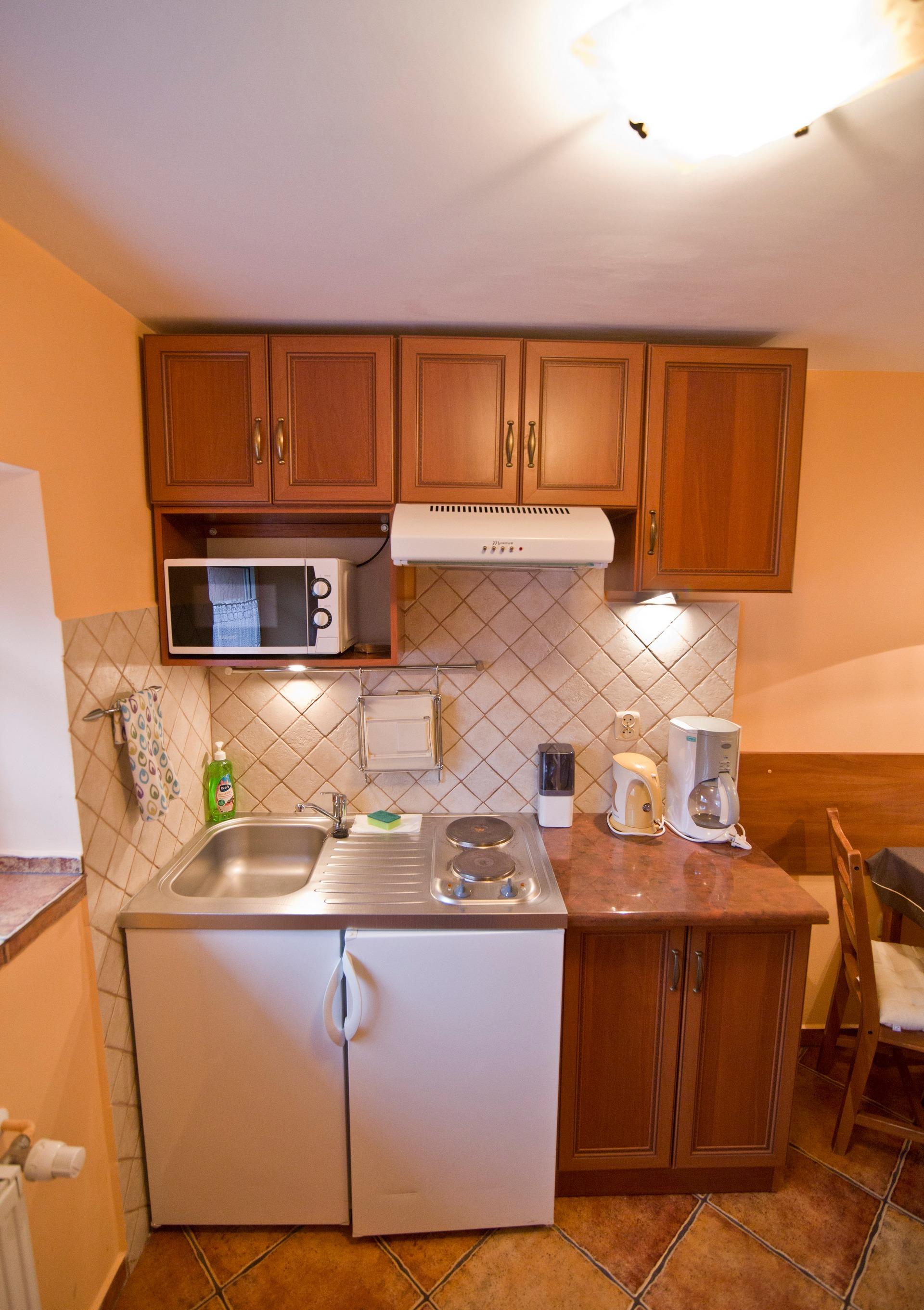 Kuchnia- Apartament Kajko