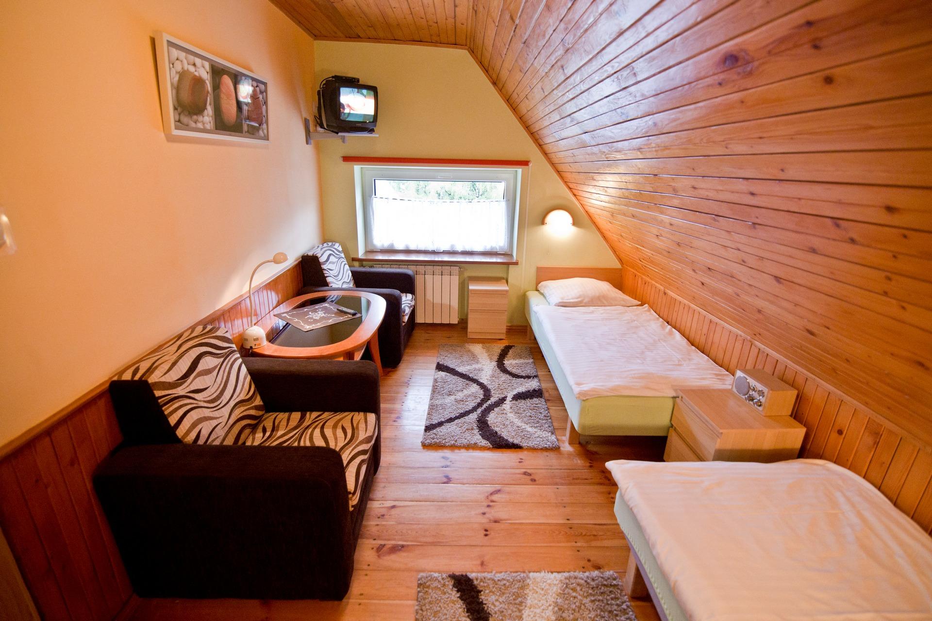 Druga sypialnia - Apartament Kajko